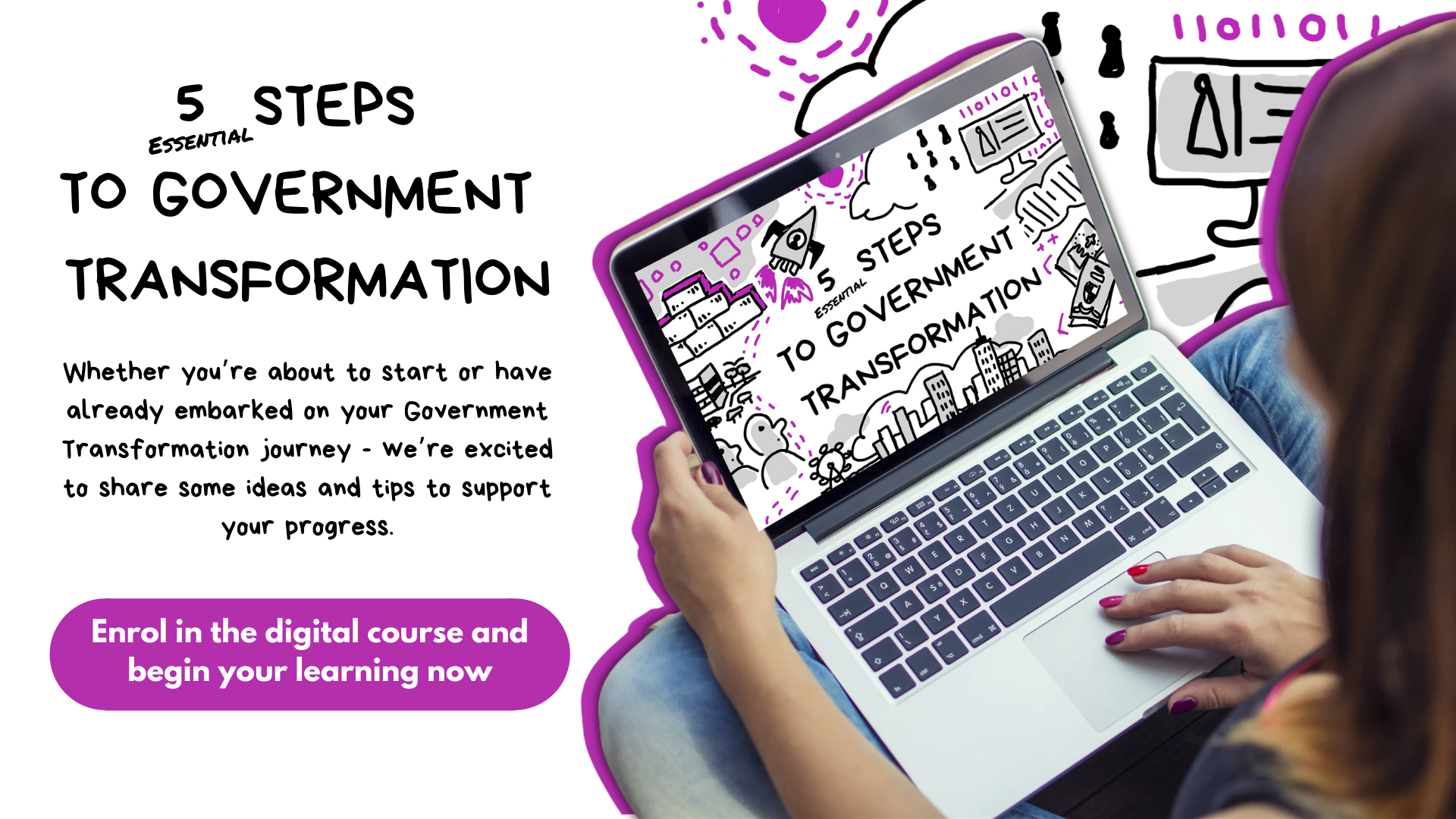 5 Steps to gov trans [email sequence]